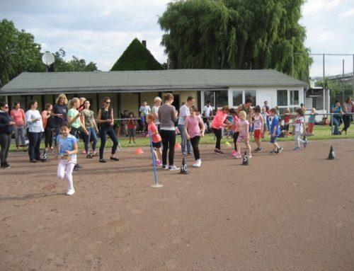 Unser Sponsorenlauf 2016 – Kinder laufen zusammen tolle 273,7 km !!!