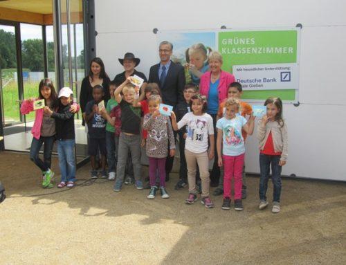 """Die Klasse 1a im """"Grünen Klassenzimmer"""" – Besuch auf der Landesgartenschau"""