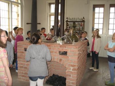 Besuch des Liebig Museum