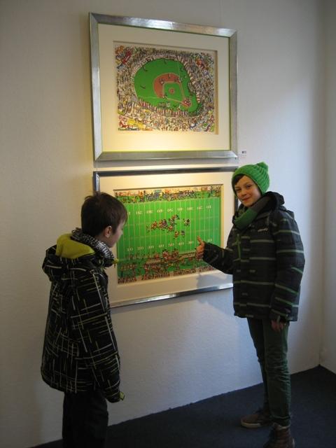 Die Rizzi - Ausstellung