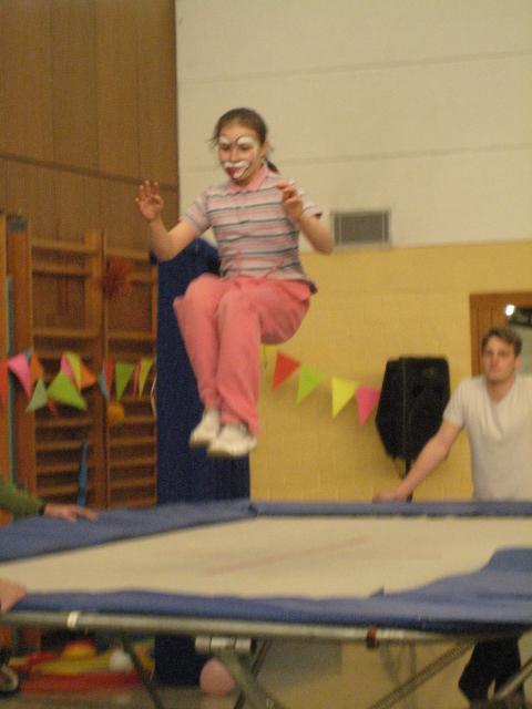 Unsere Zirkusvorstellung - ein gelungener Abschluss der Projektwoche