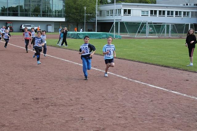 5. Platz beim Geländelauf der Gießener Grundschulen