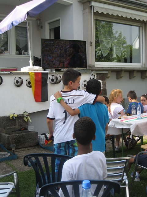Abschlussfeier der Klasse 4a mit Übernachtung in Wieseck