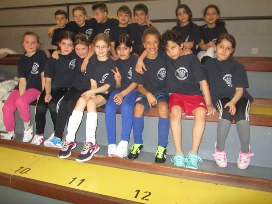 2. und 4. Platz beim Fußballturnier Gießener Grundschulen
