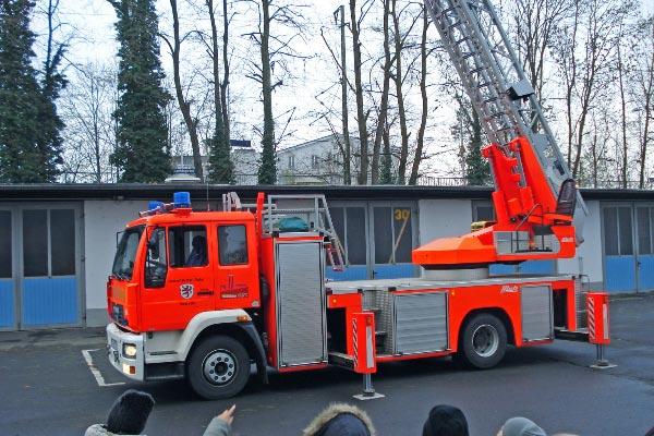Ausflug zur Feuerwehr 2008