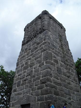 Schulausflug zum Bismarckturm
