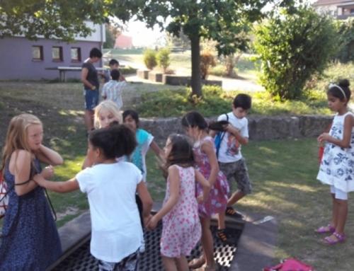 Ausflug zum Spielplatz der Margaretenhütte