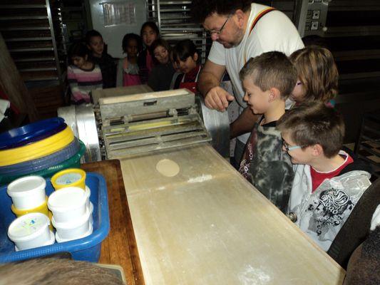 Ausflug in die Bäckerei 2011