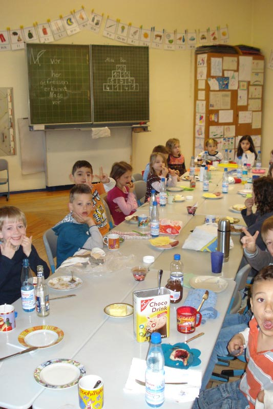 Gemeinsames Frühstück 2011