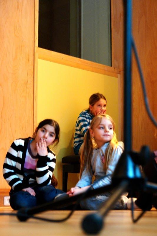 Besuch im Tonstudio 2011